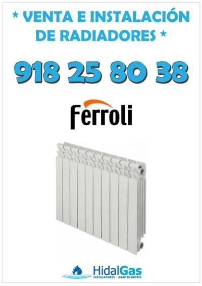 Radiadores de aluminio Ferroli