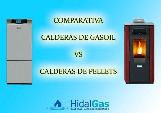 Comparativa calderas de gasoil y calderas de pellets