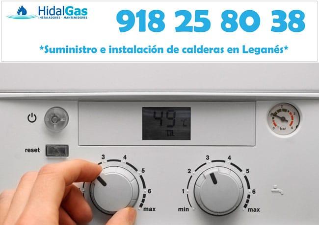 calderas de gas en Leganes